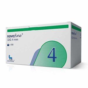 Иглы НовоФайн - 4мм (NovoFine-32G) - 100 шт