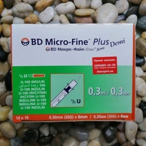 Купить инсулиновые шприцы БД Микро-Файн Деми 100 шт