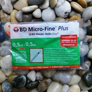 Купить инсулиновые шприцы БД Микро-Файн 8мм