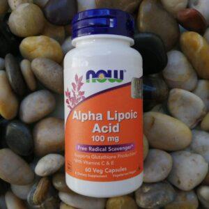 Альфа-липоевая кислота Нау Фудс 100мг 60 капсул
